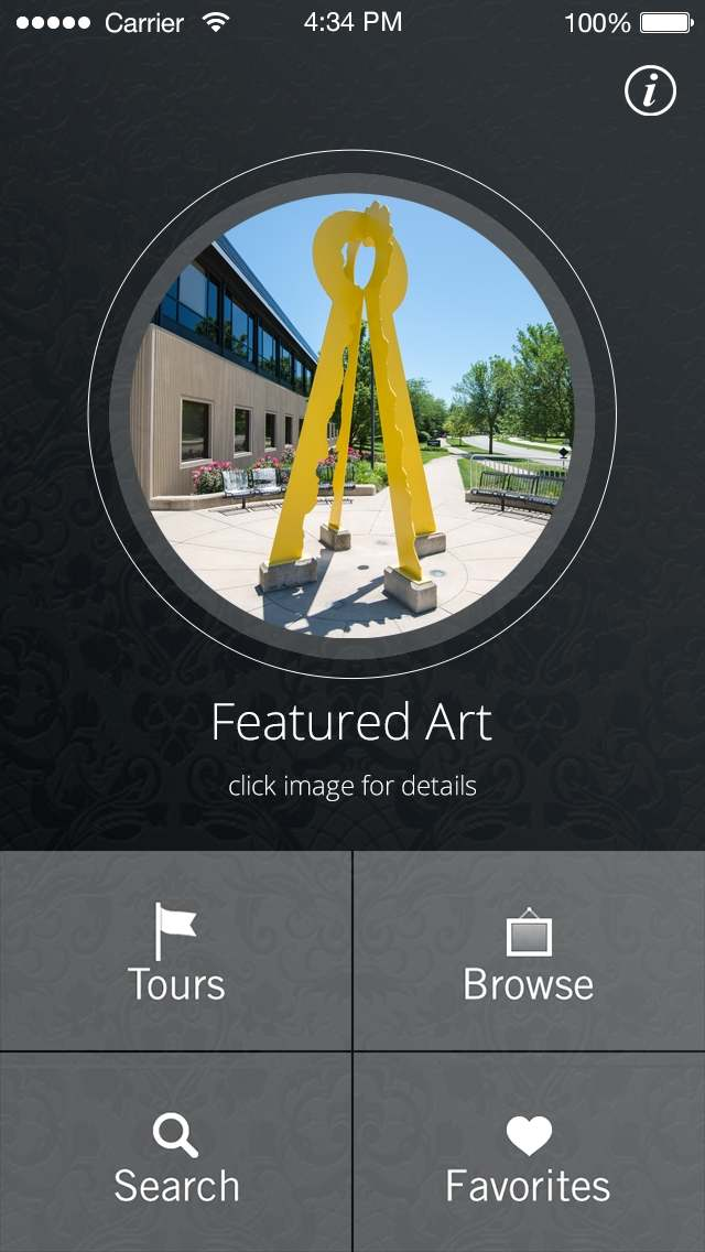 Art at GVSU mobile app